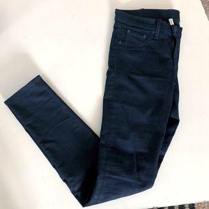 Rag & Bone Dark Wash Legging Jeans